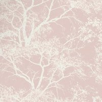 Whispering Trees Wallpaper - Pink