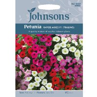 Pack of Rapide Mixed F1 Trailing Petunia Seeds