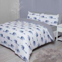 Celestial Bears Duvet Cover and Pillowcase Set - King