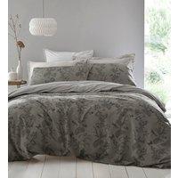 Arboretum Duvet Cover and Pillowcase Set - Pewter / Single