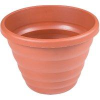 Round Beehive Planter Pot - Terracotta