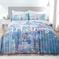 Follow Your Dreams Duvet Cover and Pillowcase Set - Single
