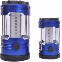 18 Led And 12 Led Lantern Set - Blue