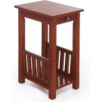Kilburn End Table With Magazine Rack - Oak