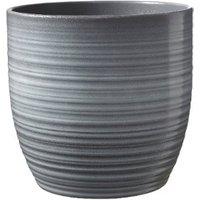 Bergamo Planter - Light Grey / 18cm