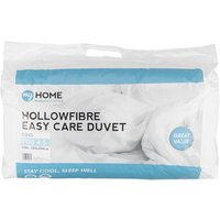 My Home 4.5 Tog Duvet - White / King