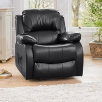 Copthorne Electric Riser Recliner with Massage and Heat - Black