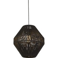 Black Rattan Easy Fit Shade