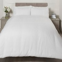 Lara Pinosonic Duvet Cover and Pillowcase Set - White / King
