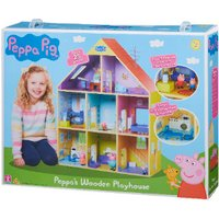 'Peppa's Wooden Playhouse