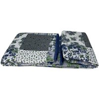 Beautiful Printed Quilted Bedspread Throw - D309