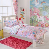 Unicorn Fantasy Kids Duvet Cover Set - Single
