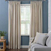 Chiltern Tape Curtains - Oatmeal / 183cm / 168cm