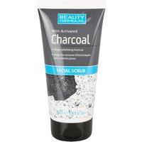 Beauty Formulas Charcoal Facial Scrub
