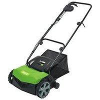 Draper 2 in 1 Lawn Aerator/Scarifier (1100W) - Green