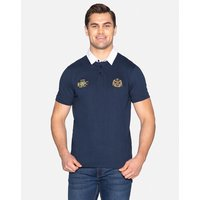 Navy Wilkinson Cotton Rugby Shirt - Navy / S
