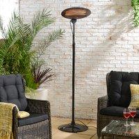 Standing Patio Heater - Black