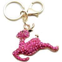 57mm Leaping Reindeer Handbag Buckle Charm - Gold