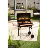 Super Pro Charcoal BBQ  - Black