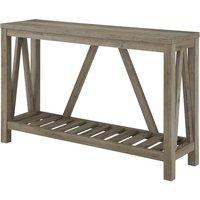 Ohara Rustic Entryway Table - Grey Wash