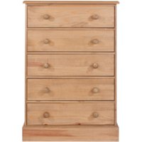 Cotswold Five Drawer Chest - Pine