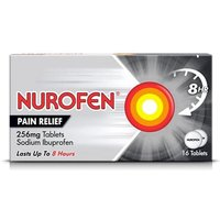 Nurofen Joint and Back Pain Relief Capsules 256mg x 16