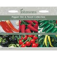 Pack of Hot and Sweet Collection Pepper Seeds