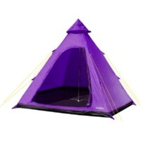 Summit Four Person Tipi Tent - Purple