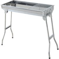Garden BBQ Charcoal Grill - Silver