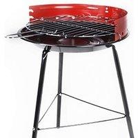 14inch Tripod Charcoal BBQ - Red