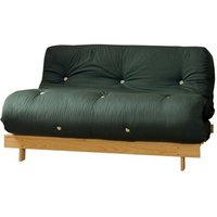 Glade Green 4ft Premium Luxury Wooden Futon Sofa Bed