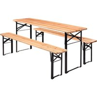 Collapsible Garden Bench and Table