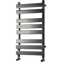 Towelrads Perlo Towel Radiator - Anthracite / 800mm
