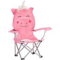 'Kids Unicorn Shaped Camping Chair