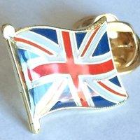 'Union Jack Lapel Pin Badge British Flag Pin