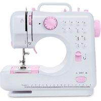 Sew & Make Mini Sewing Machine FHSM-505 - White