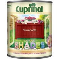 Cuprinol Garden Shades Paint - Terracotta / 1l