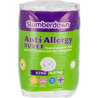 Slumberdown 4.5Tog Anti Allergy Duvet - King size