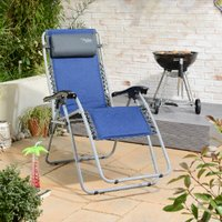 Active Sport Zero Gravity Chair - Navy