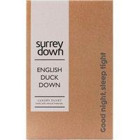 English Duck Down Duvet - White / 230cm / 3kg / Super King size / 13.5tog