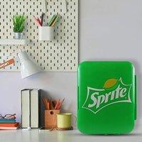 Coca-Cola or Sprite Portable 6 Can Thermoelectric Mini Fridge - Green
