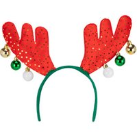 'Gold Antler Bauble Head Band