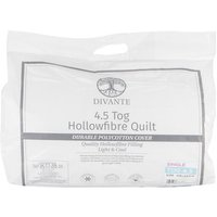 4.5 Tog Duvet - White / Single