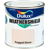 Dulux Weathershield Smooth Exterior Masonry Paint 250ml - Ru