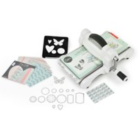 White and Grey Big Shot Starter Kit - White and Grey