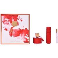 Carolina Herrera Eau de Toilette Womens Perfume Gift Set Spray 100ml - Red