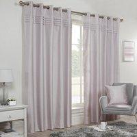 Freya Blockout Eyelet Curtains - Lilac / 229cm