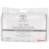13.5 Tog Duvet - White / King size