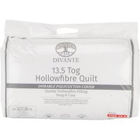 13.5 Tog Duvet - White / King size
