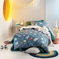 Race To Space Kids Duvet Cover Set - Double